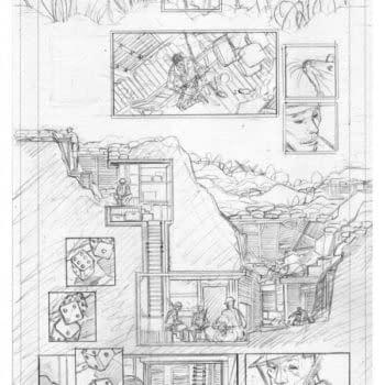 A Sneak Peek At Emma Rios' Pencils From Pretty Deadly Vol 2…