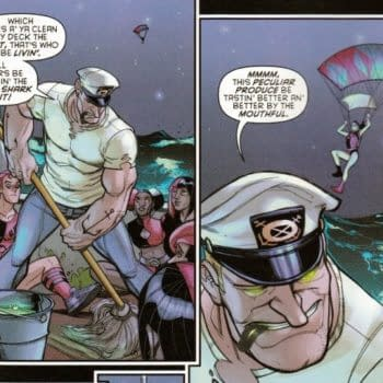 Even Popeye Ends Up in Just A Jockstrap With Harley Quinn