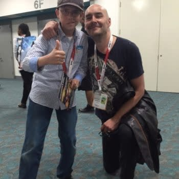 Chatting With The Youthful Grant Morrison Super-Fan From SDCC