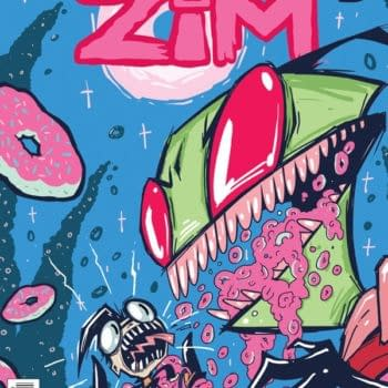 A Look At Jhonen Vasquez's Cover To Invader Zim #2