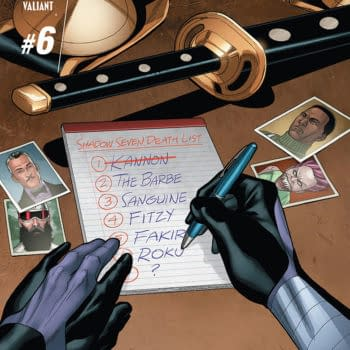 A Double Dose Of Ninjak And The Final Issue Of Dead Drop