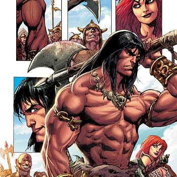Victor Gischlers Writer Commentary on Red Sonja / Conan #1
