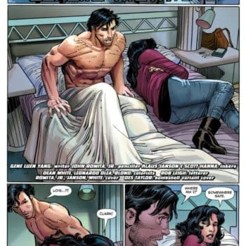 When Clark Woke Up Naked In Lois' Bed…