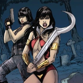 Dave Acosta's Art For Swords Of Sorrow: Vampirella / Jennifer Blood #4