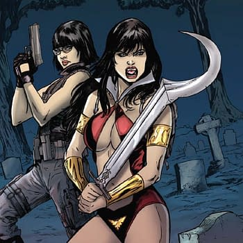 Dave Acostas Art For Swords Of Sorrow: Vampirella / Jennifer Blood #4
