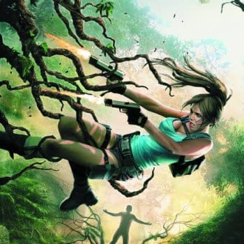A Classic New Quest: Preview Inks For Lara Croft And The Frozen Omens #1 From Dark Horse