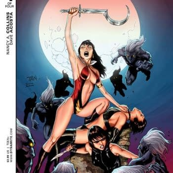 Exclusive Extended Preview Of Swords Of Sorrow: Vampirella / Jennifer Blood And More