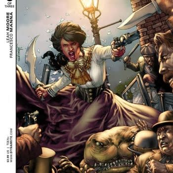 """""""Stories Tend To Veer Off When You Least Expect It"""" – Leah More On Swords of Sorrow: Dejah Thoris / Irene Adler"""