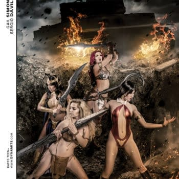 New Cosplay Cover For Swords Of Sorrow #5