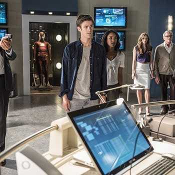 First Image From The Flash Season 2 Has A Bit Of A Mystery