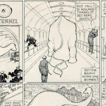 The Lost Comic Book Work Of Winsor McKay – Dino – To Be Published In November