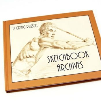 It's A Last Call For P. Craig Russell's Hardback Sketchbook Archives, Shipping In September