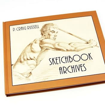Its A Last Call For P. Craig Russells Hardback Sketchbook Archives Shipping In September