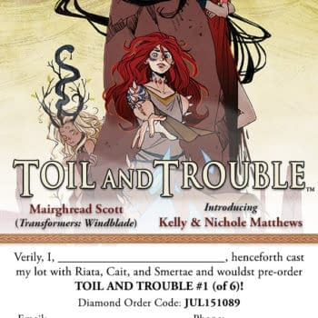 Archaia's Toil And Trouble Brings You Shakespeare With A Twist Next Month