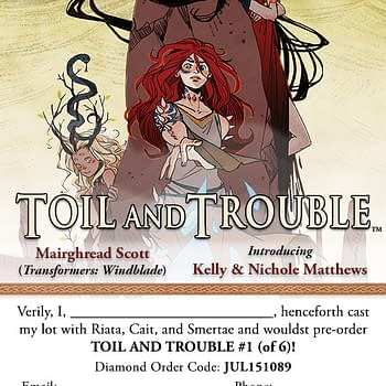 Archaias Toil And Trouble Brings You Shakespeare With A Twist Next Month