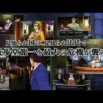 Ace Attorney 6 Gets A New Japanese Trailer