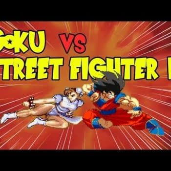 Goku Takes On The Street Fighter II Cast!