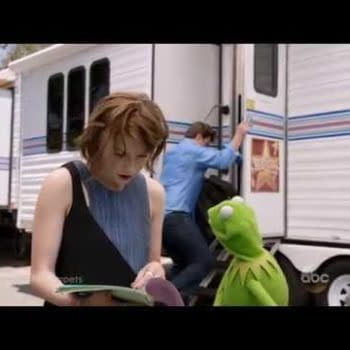 That Awkward Moment Between Nathan Fillion And Kermit The Frog