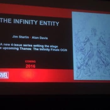 The Infinity Entity By Jim Starlin And Alan Davis, To Prepare The Way For The Infinity Finale