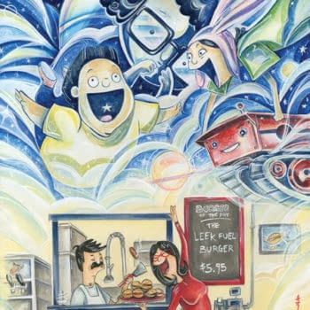 Geek Fuel Gets Exclusive Bob's Burgers Cover From Sara Richards