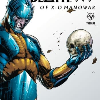 An Advanced Look At Book of Death: The Fall of X-O Manowar #1