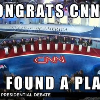 When The Comics Industry Watched The Republican Debate On CNN Last Night