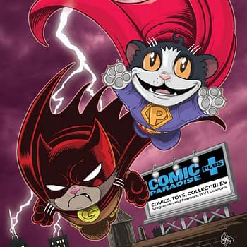 Ken Haeser Gives The Worlds Finest Treatment To Grumpy Cat And Pokey