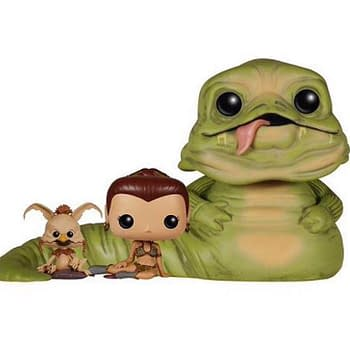 Wal-Mart To Release Exclusive Slave Leia, Jabba, and Salacious B. Crumb POP! Vinyl 3-Pack