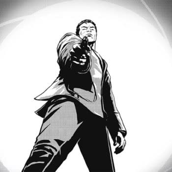 A Few B&W Preview Pages Of James Bond: VARGR By Warren Ellis And Jason Masters