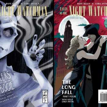 SPX Preview: Supernatural Noir Returns With 10 Pages From Tales Of The Night Watchman # 4