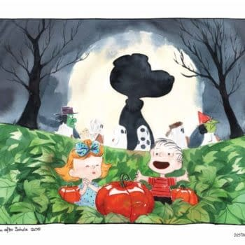 Jeff Lemire And Dustin Nguyen's Tribute To Charles M Schulz' Peanuts