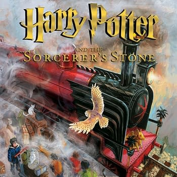 New Illustrated Edition Of Harry Potter And The Sorcerers Stone