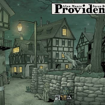 Advance Review Of Providence #5: Its Like A Maze You Cant See