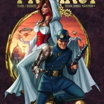 Precinct, A New Steampunk Comic From Frank Barbiere And Crizam Zamora For December