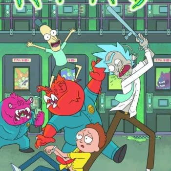 Prints Charming, Rick, Morty And The Fall Of Ninjak