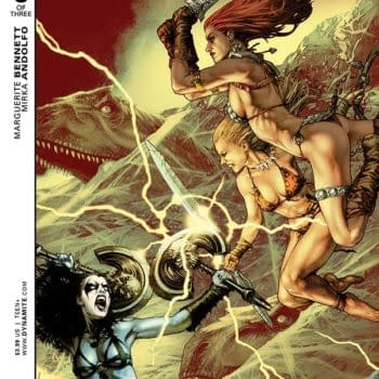 """""""I'm Actually On Too Many Books For My Own Good."""" – Marguerite Bennett Talks Swords Of Sorrow"""