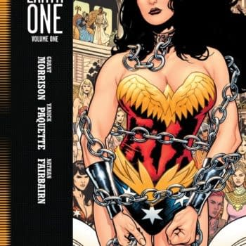 Wonder Woman In Chains, On The Cover Of Earth One From Morrison, Paquette And Fairburn