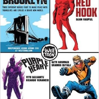 A New Superhero Comic Universe Set In A Sentient Brooklyn, From Dean Haspiel, Seth Kushner And Friends