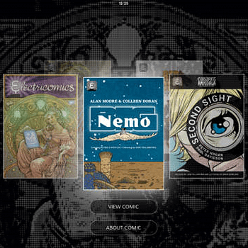 Electricomics Launches On iPad From Alan Moore Nicola Scott Garth Ennis Colleen Doran And More