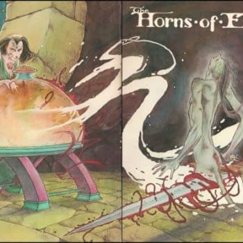 Charles Vess' Horns Of Elfland Reissued After Almost Forty Years