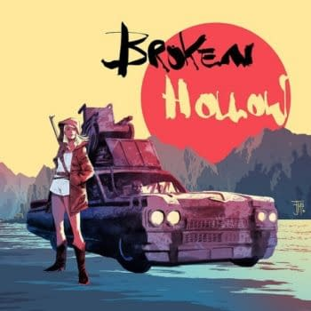 Francis Manapul's New Creator Owned Comic Broken Hollow, Used To Sell Microsoft's Surface Pro