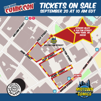 Your Last Chance To Buy NYCC Tickets? Tomorrow, At Midtown Comics Downtown, At 10AM