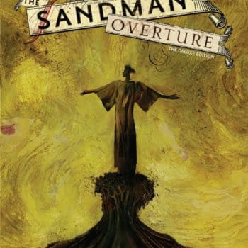 Exclusive To Comic Shops, The Sandman Overture Dust Jacket By Dave McKean