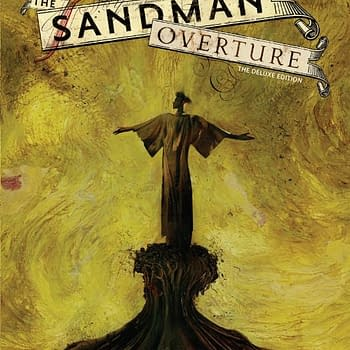 Exclusive To Comic Shops The Sandman Overture Dust Jacket By Dave McKean