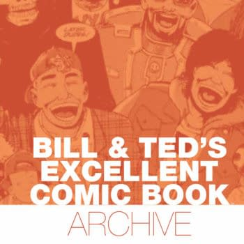 Evan Dorkin's Classic Bill & Ted Comics Are Being Collected In A Prestigious HC