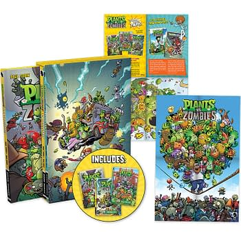 Plants Vs. Zombies Comics To Be Collected Into A Boxed Set Next Month