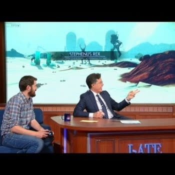 No Man's Sky Features On The Late Show With Stephen Colbert