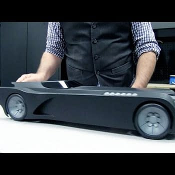 Unboxing The Batman: The Animated Series Batmobile