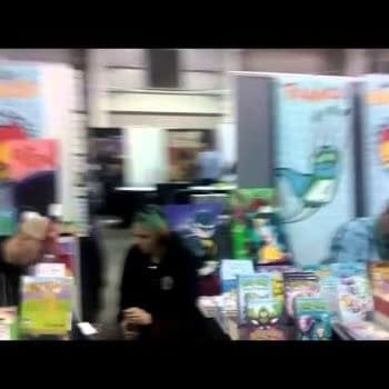 NYCC '15: The Artist's Alley Mile – Back And Forth From One Side To The Other (VIDEO)