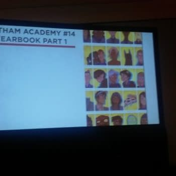 NYCC '15: Hope Larson, Dustin Nguyen and David Petersen On The Gotham Academy Yearbook